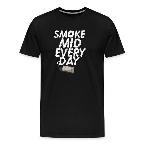 Smoke Mid Everyday T-Shirt - Men's Premium T-Shirt