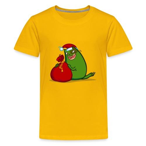 Grinchcat — Friday Cat №35 - Kids' Premium T-Shirt