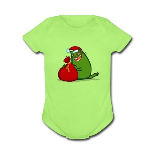 Grinchcat — Friday Cat №35 - Organic Short Sleeve Baby Bodysuit