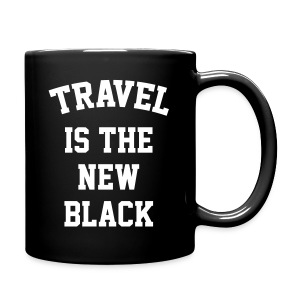 Travel is the NEW Black - Full Color Mug