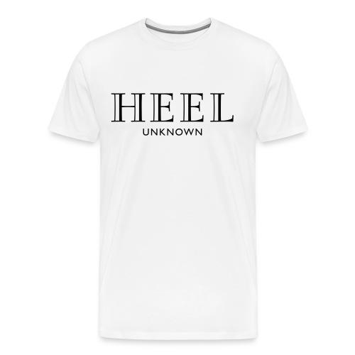 Parts Unknown Designer Heel Tee  - Men's Premium T-Shirt