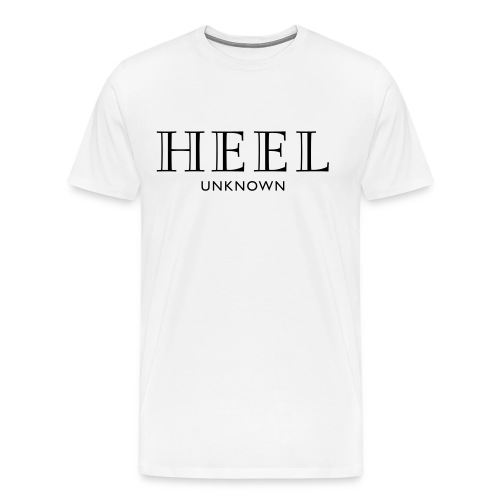 Parts Unknown Designer Heel Tee  - Men's Premium T-Shirt