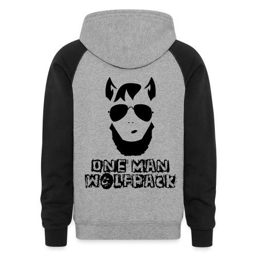 One Man Wolfpack - Colorblock Hoodie