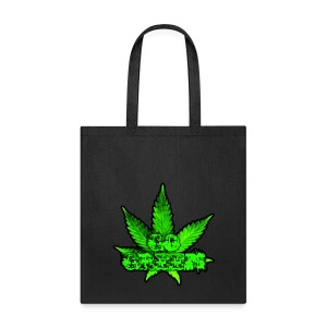 Go Green Black - Tote Bag