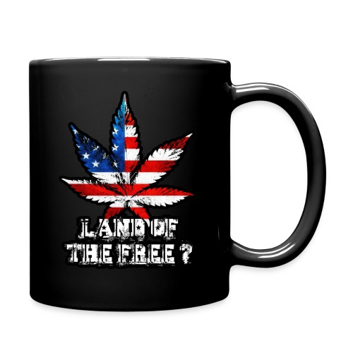Land of the Free Black - Full Color Mug