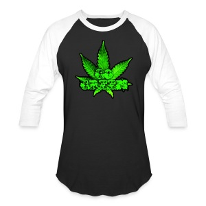 Go Green Black - Baseball T-Shirt