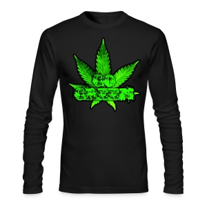 Go Green Black - Men's Long Sleeve T-Shirt by Next Level
