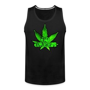 Go Green Black - Men's Premium Tank