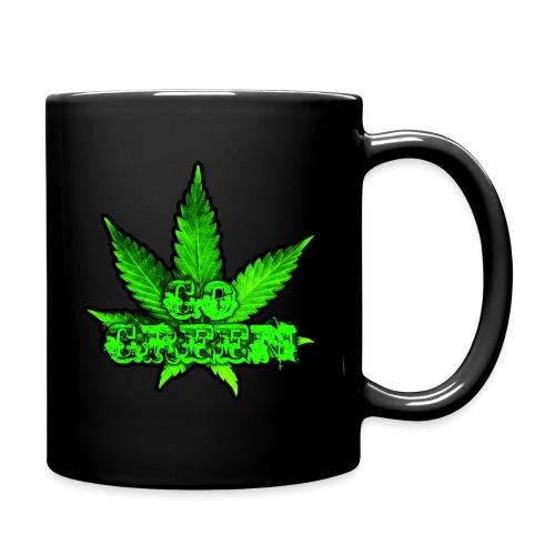 Go Green Black - Full Color Mug