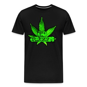 Go Green Black - Men's Premium T-Shirt