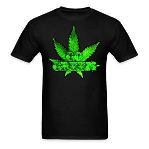 Go Green Black - Men's T-Shirt