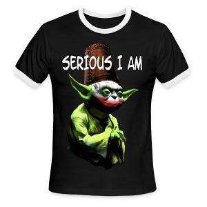 Serious I Am - Men's Ringer T-Shirt