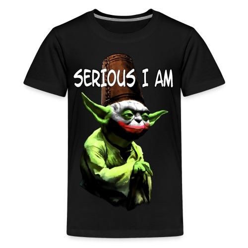 Serious I Am - Kids' Premium T-Shirt