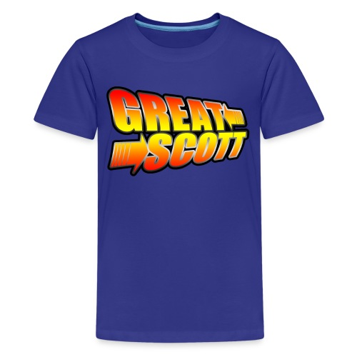 Great Scott Logo - Kids' Premium T-Shirt