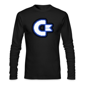 C64 Glow - Men's Long Sleeve T-Shirt by Next Level