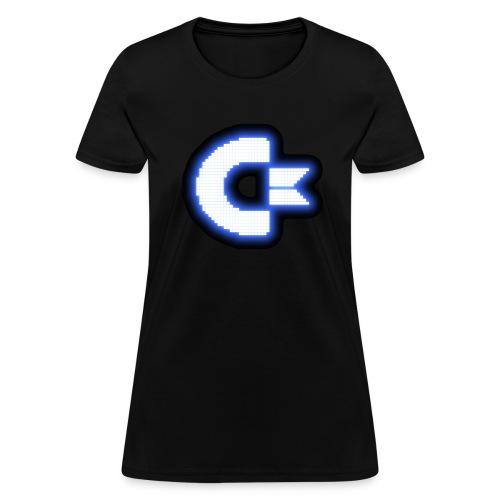 C64 Glow - Women's T-Shirt
