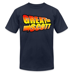 Great Scott Logo - Men's Fine Jersey T-Shirt