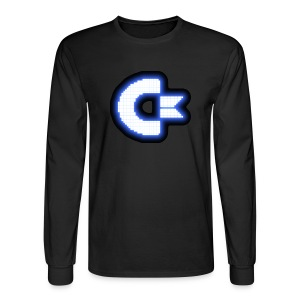 C64 Glow - Men's Long Sleeve T-Shirt