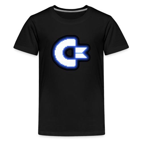 C64 Glow - Kids' Premium T-Shirt