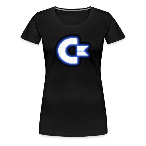 C64 Glow - Women's Premium T-Shirt