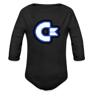 C64 Glow - Long Sleeve Baby Bodysuit