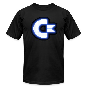 C64 Glow - Men's T-Shirt by American Apparel