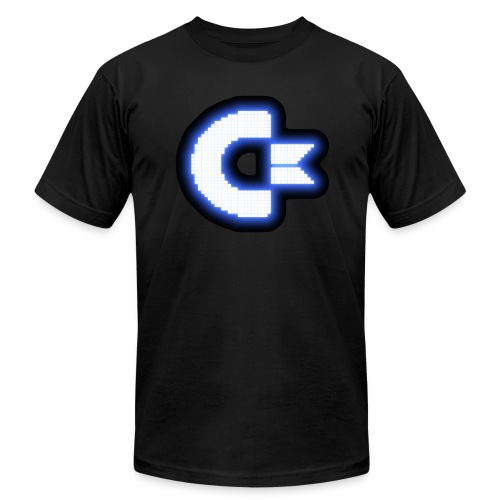 C64 Glow - Men's Fine Jersey T-Shirt