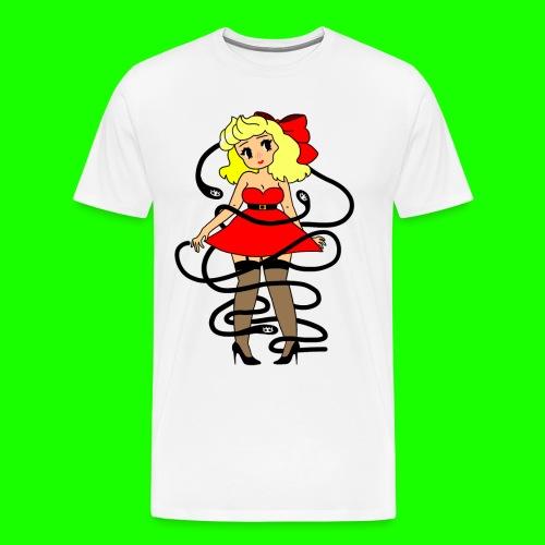 Pin-Up - Men's Premium T-Shirt