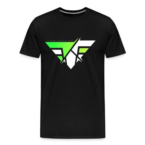 Sliced 'n' Diced Green Mens Tee - Men's Premium T-Shirt