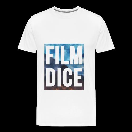 FilmDice Mens - 'Earth and Sky' Shirt - Men's Premium T-Shirt