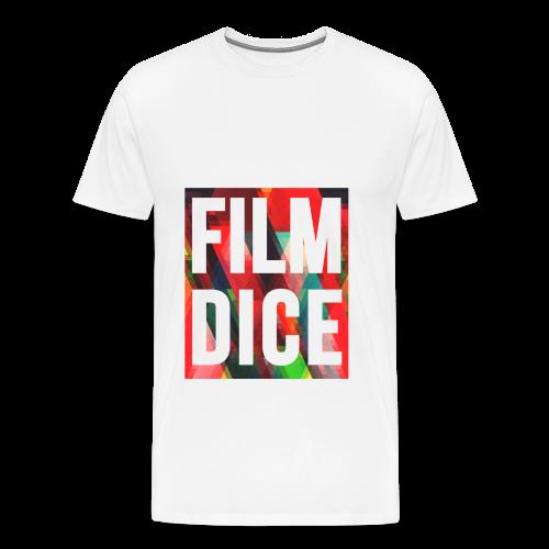 FilmDice Mens - 'Splatter' Shirt - Men's Premium T-Shirt