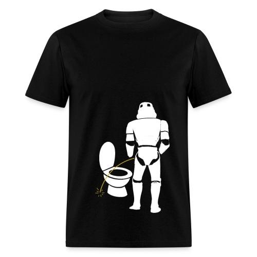 Stormtrooper bad aim male shirt - Men's T-Shirt