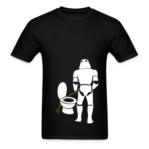 Stormtrooper bad aim male shirt - Men's T-Shirt
