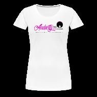T-Shirts ~ Women's Premium T-Shirt ~ You(nique) White Tee