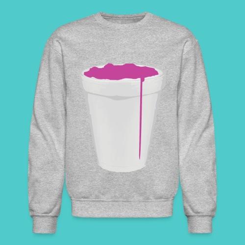 Purple Drank Crewneck - Crewneck Sweatshirt