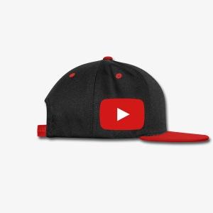 The Crazed Gamer Snap Back Hat  - Snap-back Baseball Cap