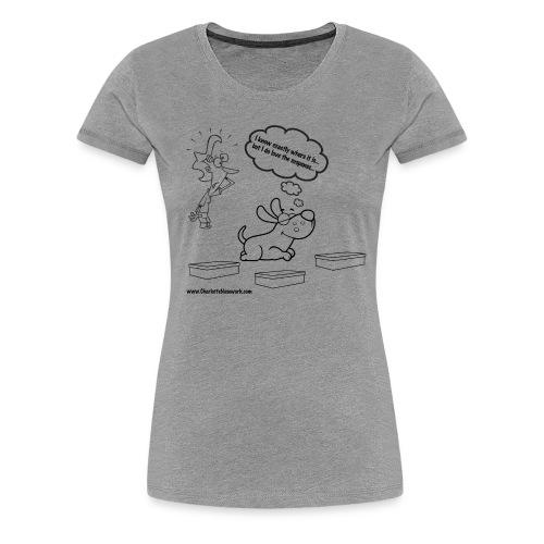Premium Ladies T-Shirt - 12 COLORS - Suspense - Women's Premium T-Shirt