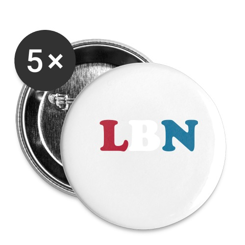 LBN Patriotic Button 56mm - Large Buttons