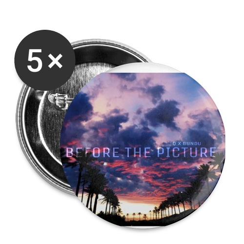 BTP Fan Button 25mm - Small Buttons