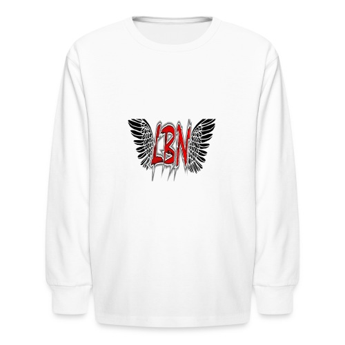 LBN Wings Kids Long Sleeve - Kids' Long Sleeve T-Shirt