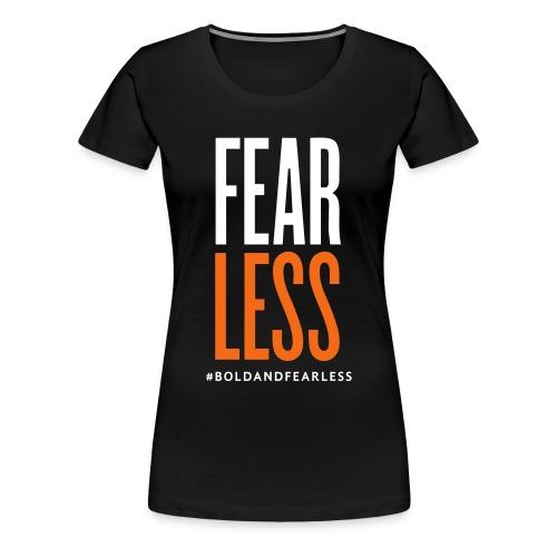 FEARLESS T-SHIRT black - Women's Premium T-Shirt