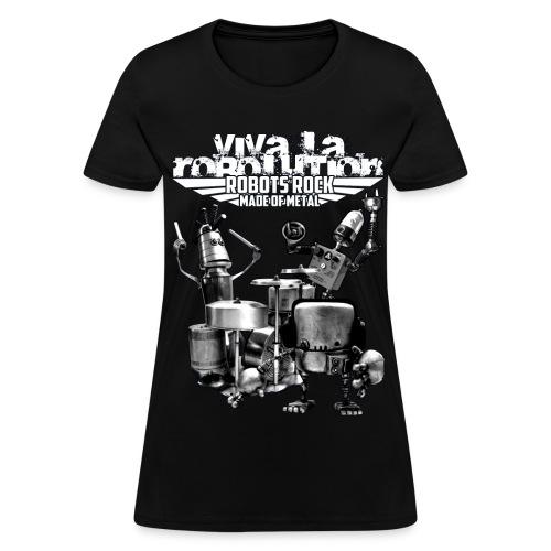 Robolution 02 - Women's T-Shirt