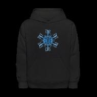 Sweatshirts ~ Kids' Hoodie ~ Detroit Snowflake