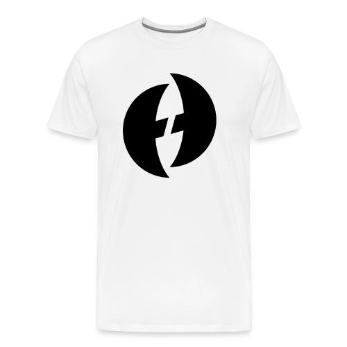 ICONIC TEE - BLK LOGO - Men's Premium T-Shirt