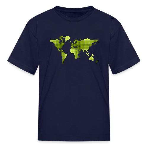 What a pixelous world - Kids' T-Shirt