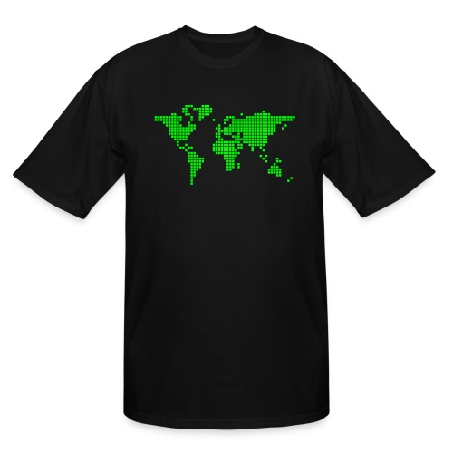 What a pixelous world - Men's Tall T-Shirt