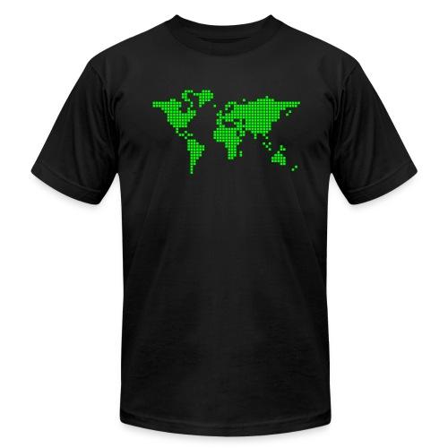What a pixelous world - Men's Jersey T-Shirt