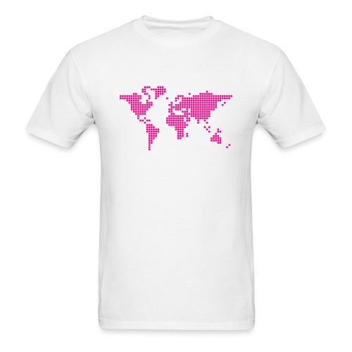 What a pixelous world - Men's T-Shirt