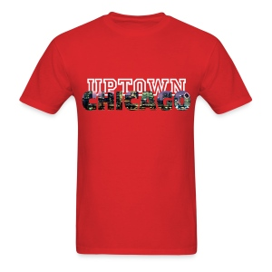 UA14 Uptown chicago  - Men's T-Shirt