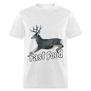 Fast Food Buck Deer - Men's T-Shirt
